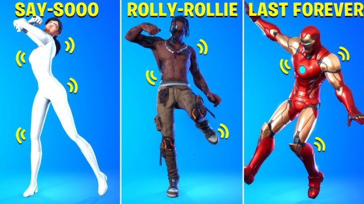 These Legendary Fortnite Dances Have Voices (Rollie/Rolex – Ayo & Teo, Say So, Scenario..)