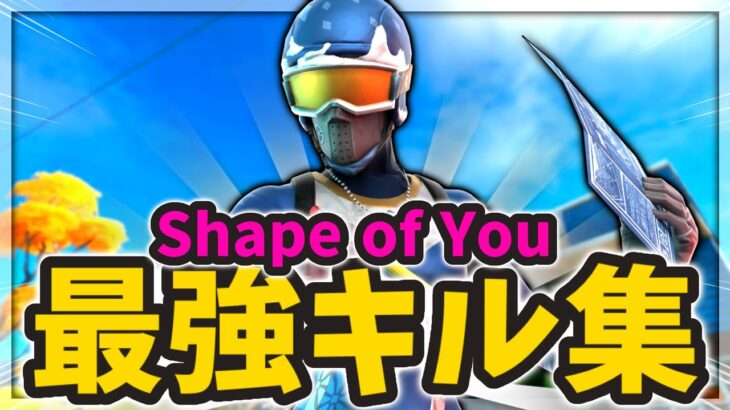 Shape of You【フォートナイトキル集】